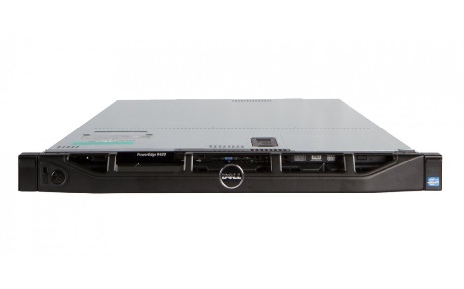 Dell PowerEdge R420 - Front