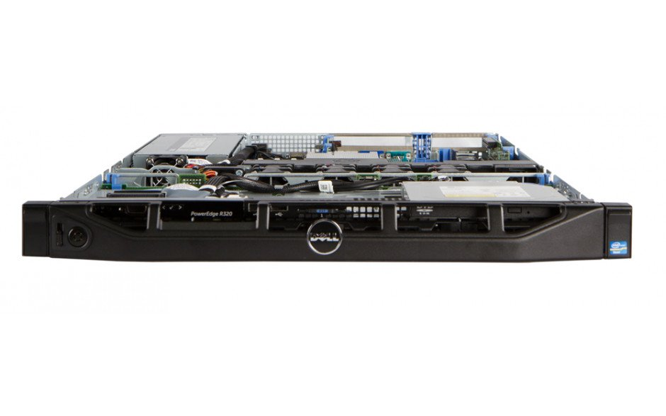 Dell PowerEdge R320 - Front Open