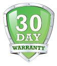 30-Day Warranty on all ServerMonkey processors