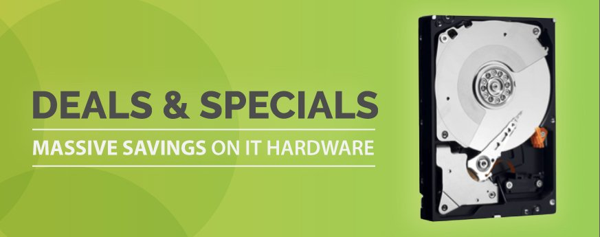 Specials on IT hardware