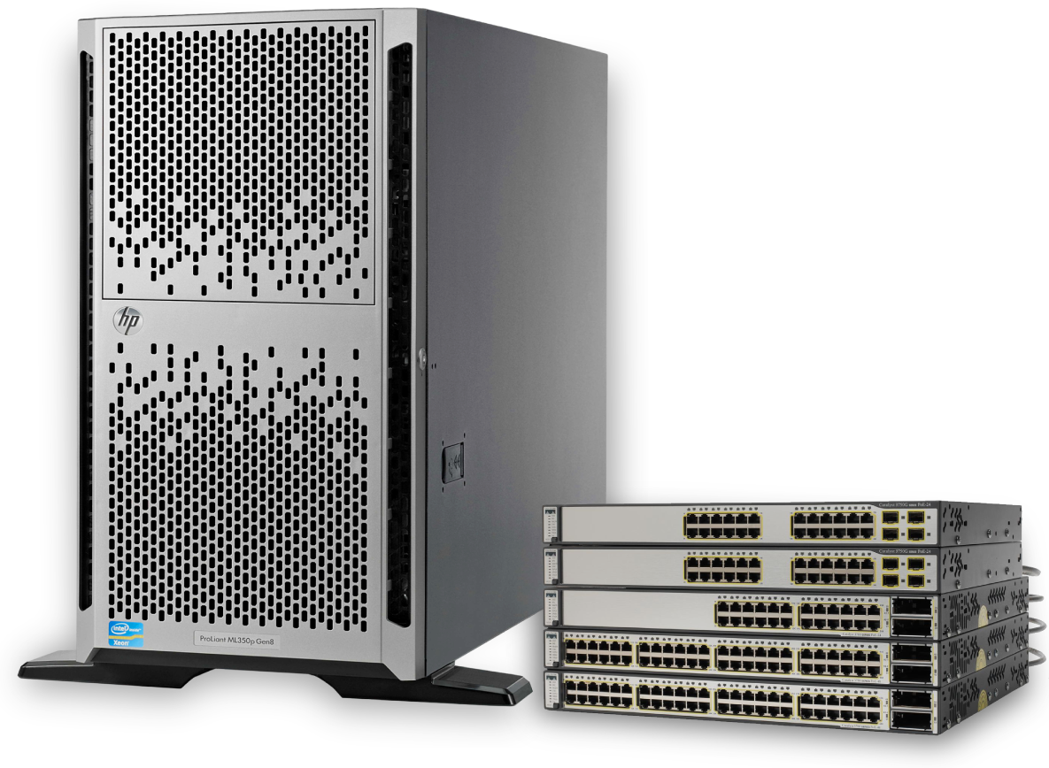 HP Family of products provided by Server Monkey
